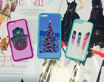 Artsy iPhone Case, Samsung Case, Set of 3 Chic & Modern Design Cases