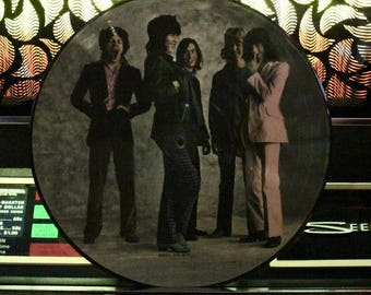 ROLLING STONES VINYL - Sticky Fingers - Picture Disc Vinyl Record - Rare Vintage Lp Music On Vinyl - Great Gift!
