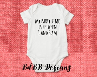 No Sleep Funny Baby Onesies / Take Home Outfit / Coming Home Outfit / Newborn Girl Clothes / Funny Baby Clothes / New Dad Gift