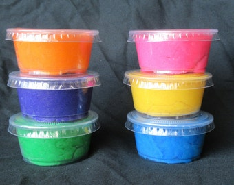 Individual Play Dough Party Favor