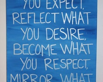 Attract, Reflect, Become, Mirror