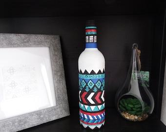 Tribal Style Decorative Vase