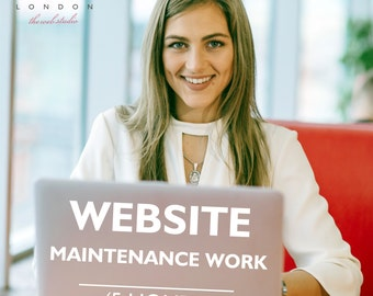 Website Maintenance, Wordpress Maintenance, Website Update, Website Support, Wordpress Support, 5 hours work, 5 hours website package