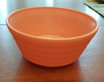 Hazel Atlas Moderntone Cereal Bowl in Pastel Pink