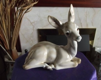 Vintage Lladro Fawn Figurine (Young Deer) 1969 - 86