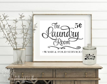 8x10 11x14 DIGITAL  Laundry Room Print - Laundry Room Print, Laundry Room Art, Laundry Room, Laundry Wall Art, Laundry Decor, farmhouse