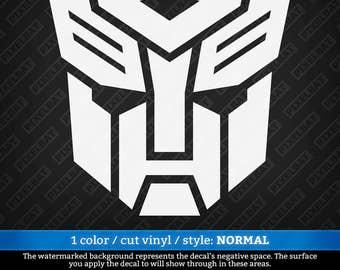 TRANSFORMERS AUTOBOT Logo Optimus Prime Vinyl Decal Sticker For Macbook Laptop Tablet Phone Car Window Windshield Bumper / Free Shipping