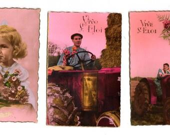 Vintage Post Card 50s France
