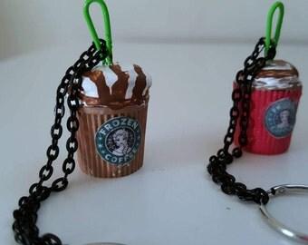 """Starbucks Keychain """"Frozen"""""""