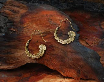 Feather - ear jewelry
