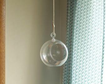 """Hanging Terrarium - 28""""L"""