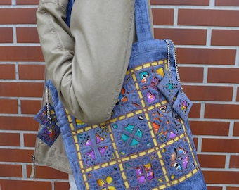 CHEERFUL MOSAIC handbag
