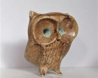 A CARN POTTERY Owl by John Beusmans.