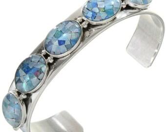 Bangles silver natural Opal trip Latvians