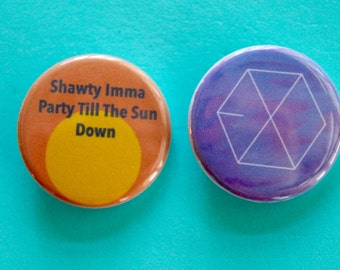 EXO 1.25 in Buttons