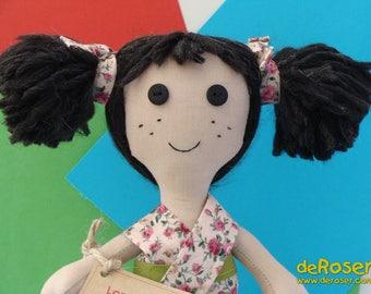 LORENA - cloth doll craft