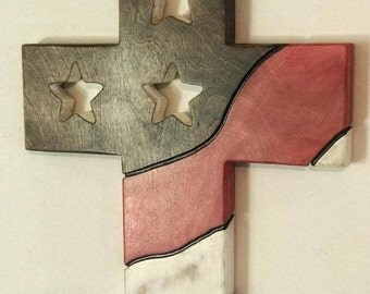 rustic country, country decorations, flag decor, cross decor, wall decorations, patriotic decor, farmhouse decor, patriotic, wall decor,