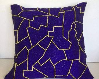Decorative handmade pillow