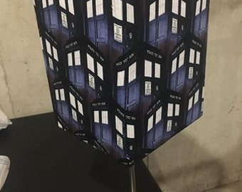 Dr. Who Tardis Lamp Shade