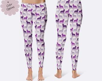 Boston Terrier Leggings, Ladies Leggings, Dog Leggings, Terrier Leggings, Capri Leggings, Print Leggings, Yoga Pants, Womens Leggings