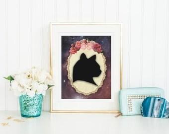 Cat Print - Cat Poster - Cat Wall Art - Cat Lady Poster - Cat Lady Print - Cat Lady Art