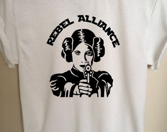 Rebel Alliance Princess Leia Tee