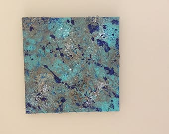 Abstract Multi Media Painting