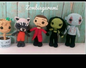 Guardians of the Galaxy amigurumi collection