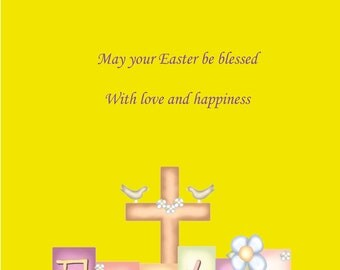 All the Family Easter card 2