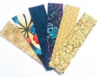 Snazzy Fabric Bookmark
