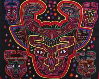 Kuna Mola Print - Mola Print Masks - Original Mola