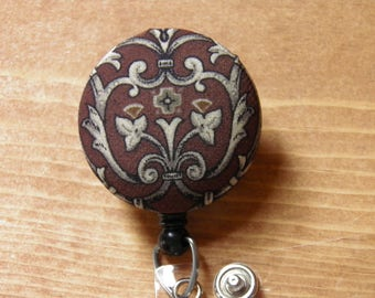 Decorative Badge Reel, ID Holder, Badge Holder