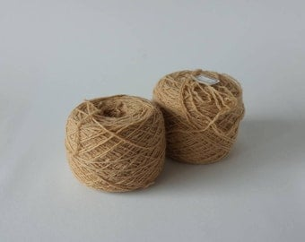 Natural Dyeing Wool Yarn With Chestnut