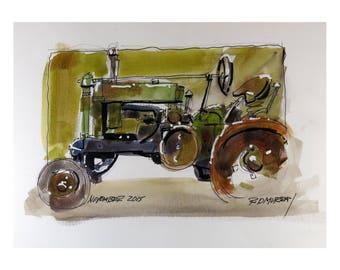 Farm Tractor 0002