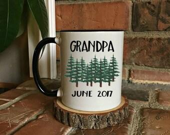 Grandpa Mug, New Grandpa Mug, Grandfather Mug, Grandpa Gift, Gift for Grandpa, Coffee Mug, Fathers Day Gift, New Grandpa, Grandpa Coffee Mug