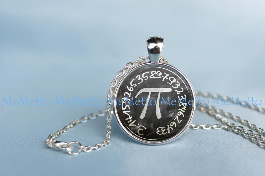 Pi Symbol Pendantpi Sign Mathematics Necklace Wedding Math Jewelry