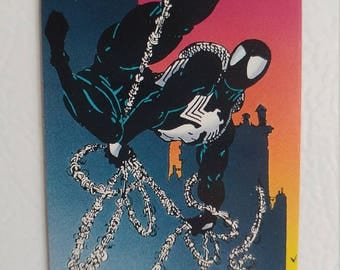 Black Suit Spiderman Magnet 1992