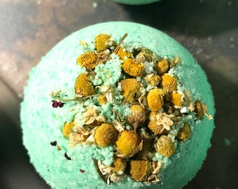 Chamomile Eucalyptus Bath Bomb