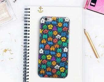 Pixel Monsters Geek iPhone 5/5s/SE iPhone 6Plus/6sPlus iPhone 6/6s iPhone 7 iPhone 7 Plus Case Witty Novelty