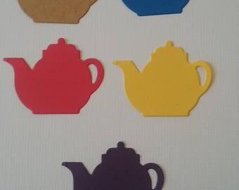 Die Cut Tea Pot with matching mug 30 each