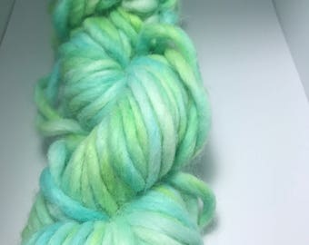 Mermaid Tale* Multicolor yarn Merino hand dyed - Super Bulky Weight