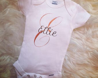 Personalized Name Onesie, Baby Gift, Baby Shower, New Baby, Custom Onesie