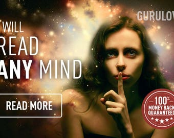 I can read any mind on earth