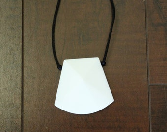 Trapezoid Teething or Nursing Necklace