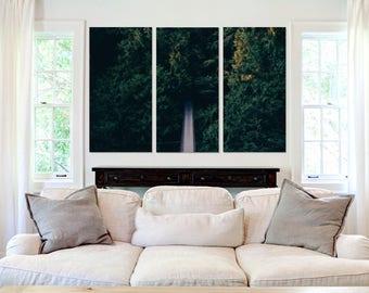 Bridge Through the Forest  - Canvas Art