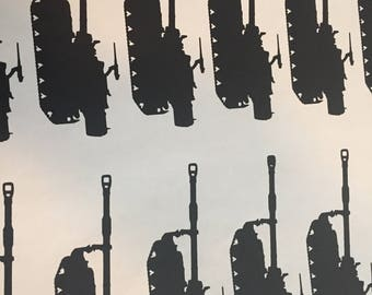 M109A6 Paladin Silhouette Decal