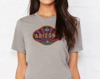 Arizona Badge: Adult's Crew Neck T-Shirt