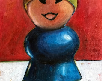 Fisher Price MOM Oil Painting- Free Priority Shipping!