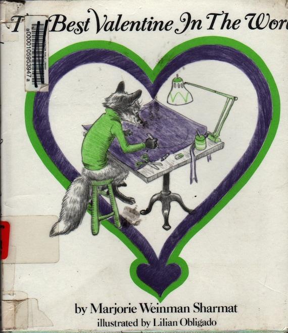 The Best Valentine in the World - Marjorie Weinman Sharmat - Lilian Obligado - 1982 - Vintage Kids Book