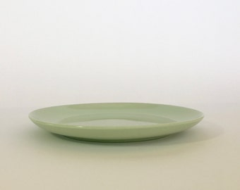 """Russel Wright Iroquois Green Plate ~ Russel Wright Plate ~ 10"""" Russel Wright"""